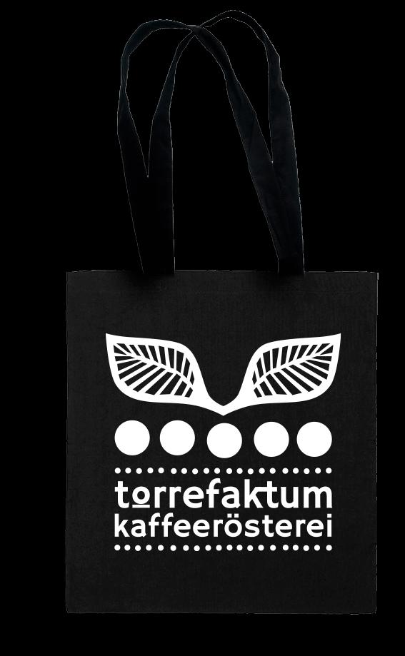 Jutebeutel mit Torrefaktum-Logo